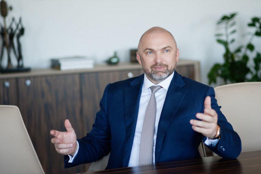 """""""Kesko Senukai"""" prezidentas Artūras Rakauskas"""