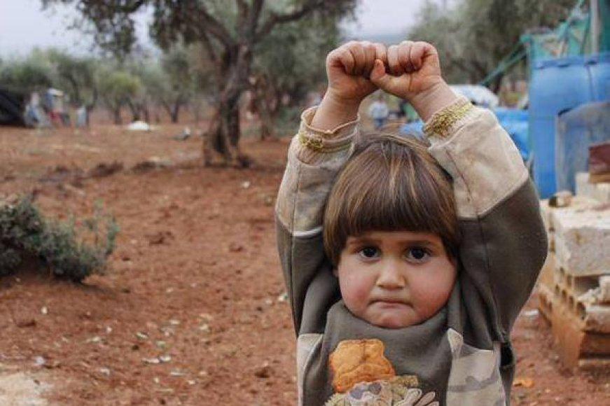Mažoji pabėgėlė iš Sirijos