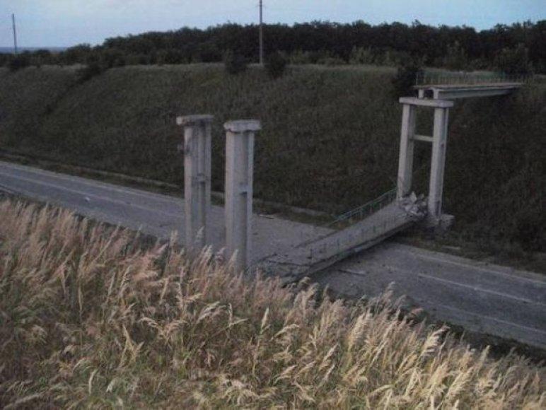 Susprogdintas tiltas