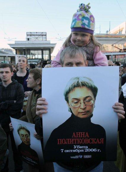Gedulingas mitingas Maskvoje