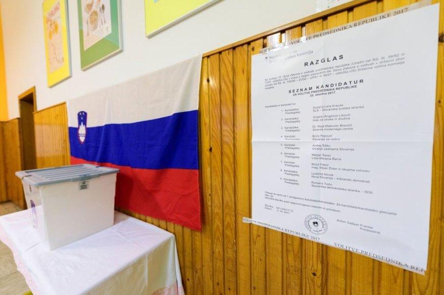 Rinkimai Slovėnijoje