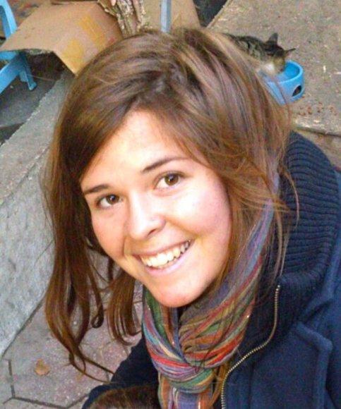 Džihadistų nužudytos Kaylos Jean Mueller gedi JAV žmonės