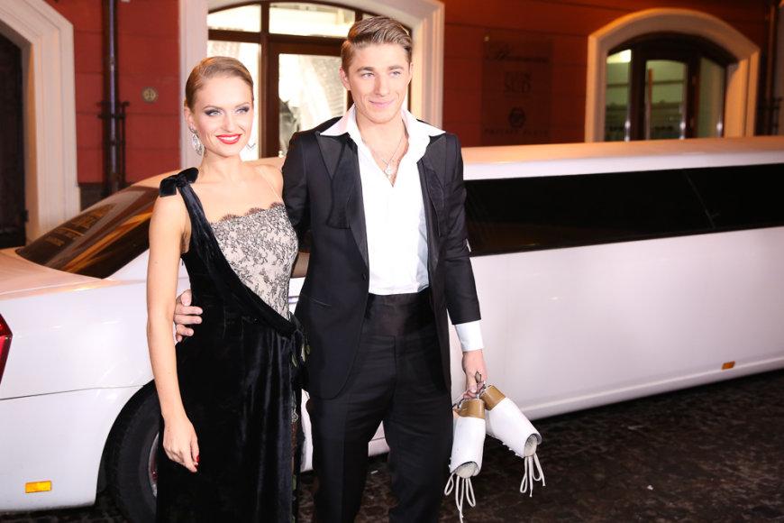 Gintarė Gurevičiūtė su Aleksejumi Rogonovu