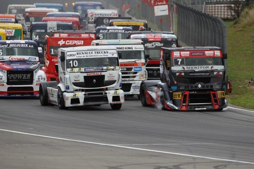 Sunkvežimių lenktynės Belgijoje