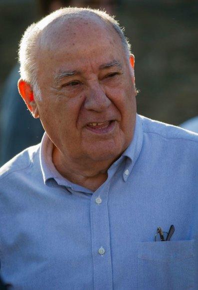 "Holdingo ""Inditex"" įkūrėjas Amancio Ortega"