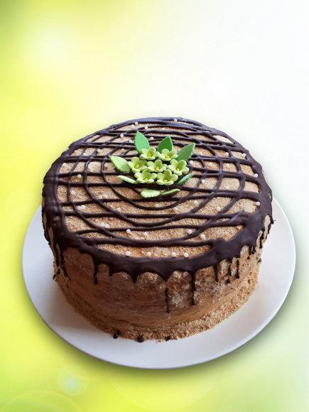 Ramunės Aleksienės medaus tortas