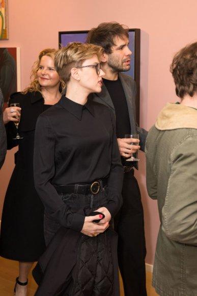 Vida Press nuotr./Scarlett Johansson ir Romainas Dauriacas