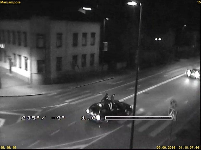 Policininkų nemalonės sulaukė šio automobilio vairuotojas