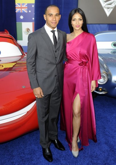 Lewisas Hamiltonas ir Nicole Scherzinger