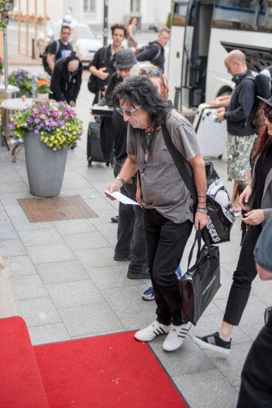 """Live Nation Lietuva"" nuotr./Alice Cooper atvyko į Lietuvą"