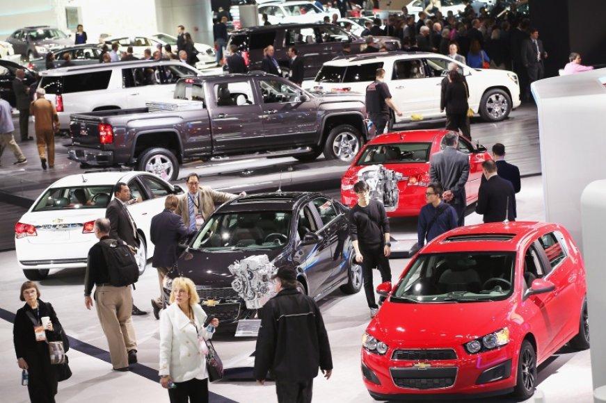 Detroito automobilių paroda