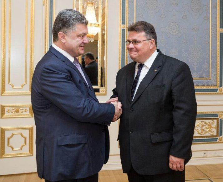 Petro Porošenka ir Linas Linkevičius