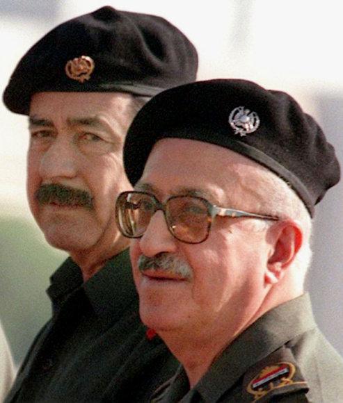 Saddamas Husseinas ir Tareqas Azizas