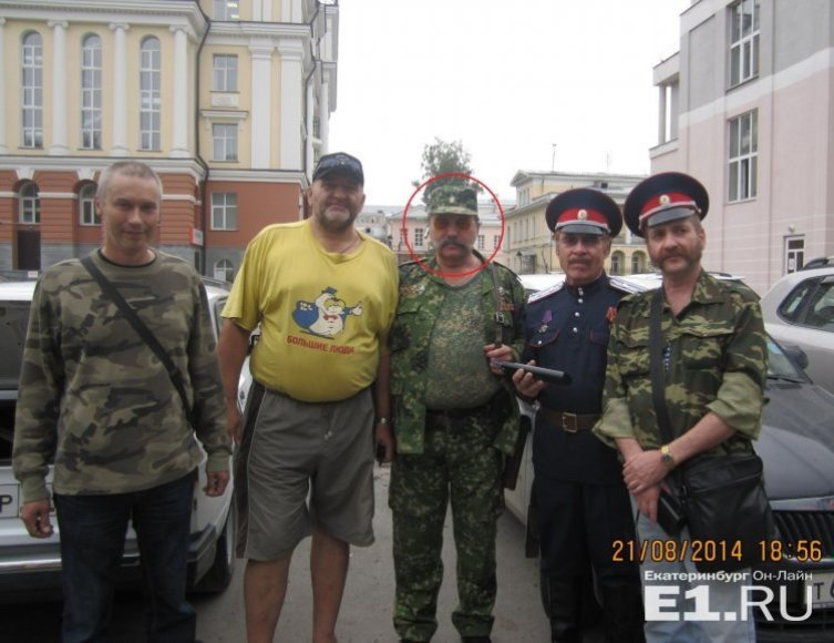 Vladimiras Jefimovas su Rusijos samdiniais