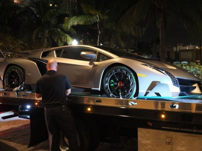 "Antrasis ""Lamborghini Veneno"""