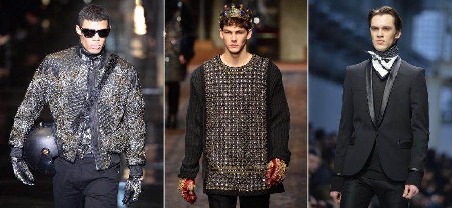 Milano vyrų mados savaitės modeliai