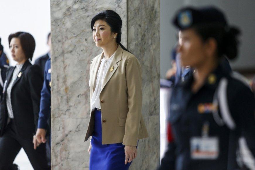 Tailando premjerė Yingluck Shinawatra