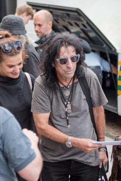 Alice Cooper atvyko į Lietuvą