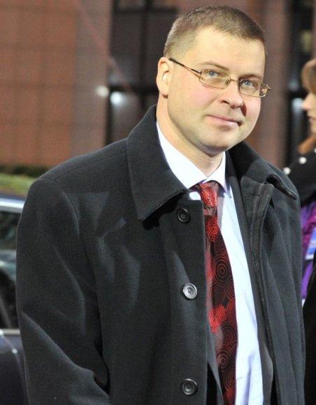 Latvijos ministras pirmininkas Valdis Dombrovskis