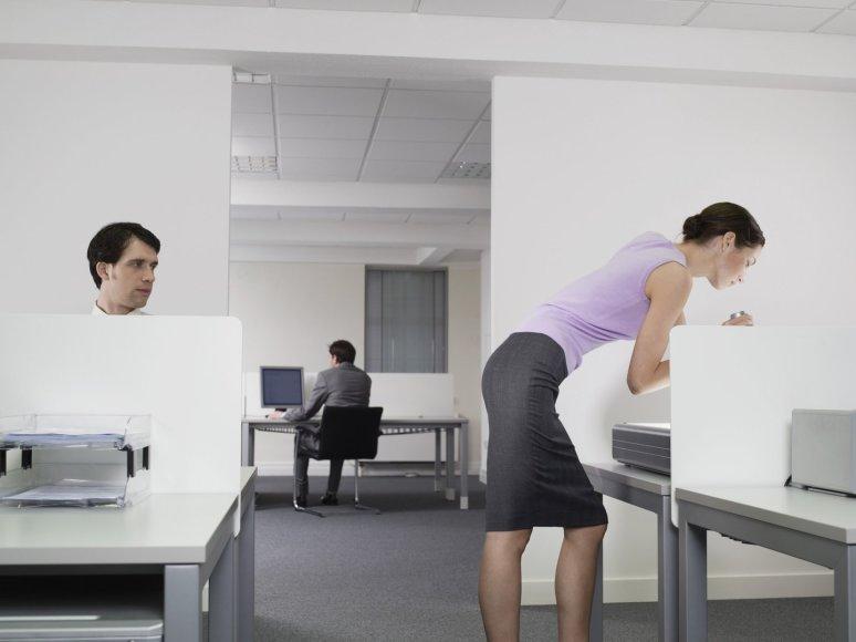 Seksualinis priekabiavimas darbe