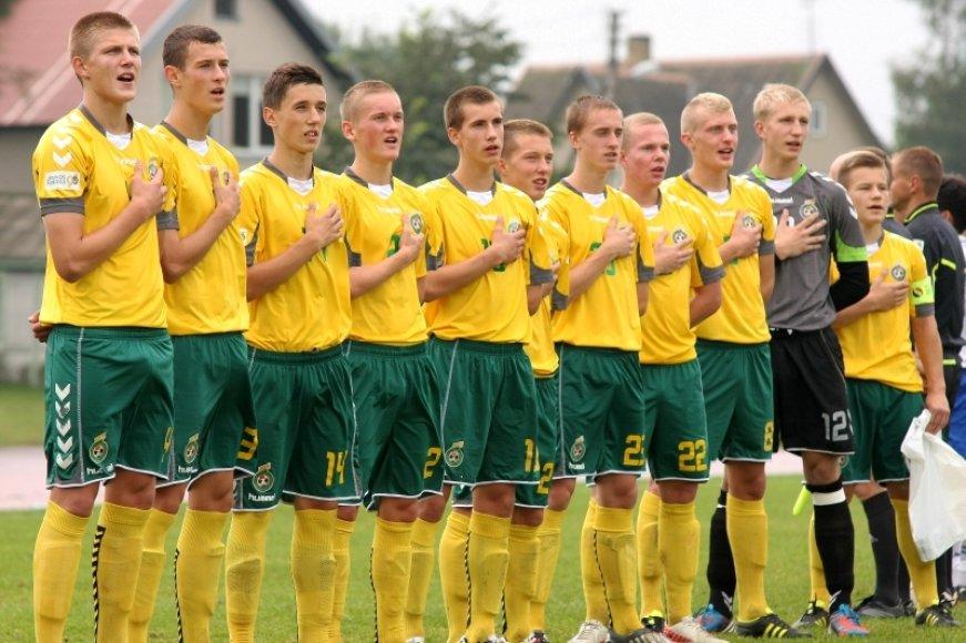 Lietuvos septyniolikmečių futbolo rinktinė dalyvaus Europos čempionato atrankos turnyre.