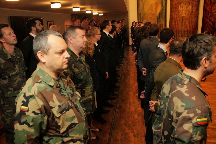 Vilniuje įkurta nauja Tauro šaulių kuopa