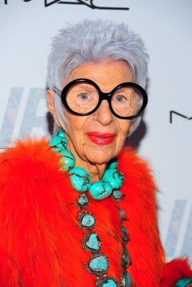Vida Press nuotr./Iris Apfel