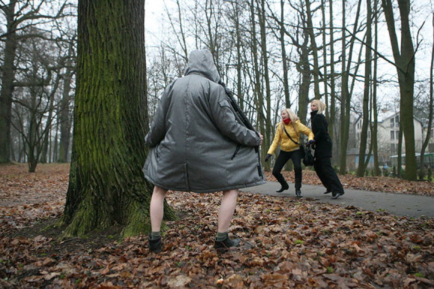 Iškrypėlis miškelyje