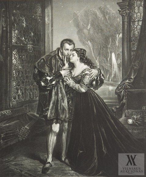 Janas Mateika. Žygimantas Augustas ir Barbora Radvilų rūmuose Vilniuje