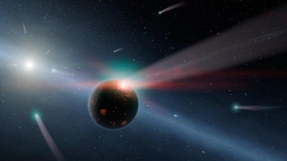 Kometų audra