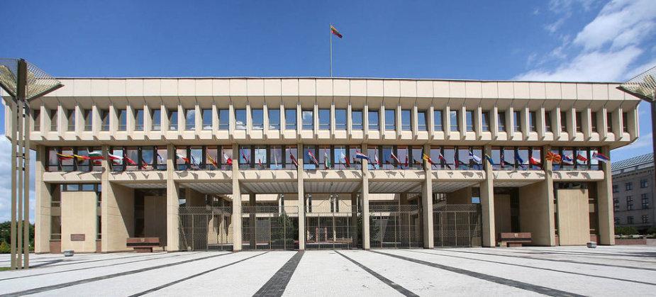 Papuošti Seimo rūmai