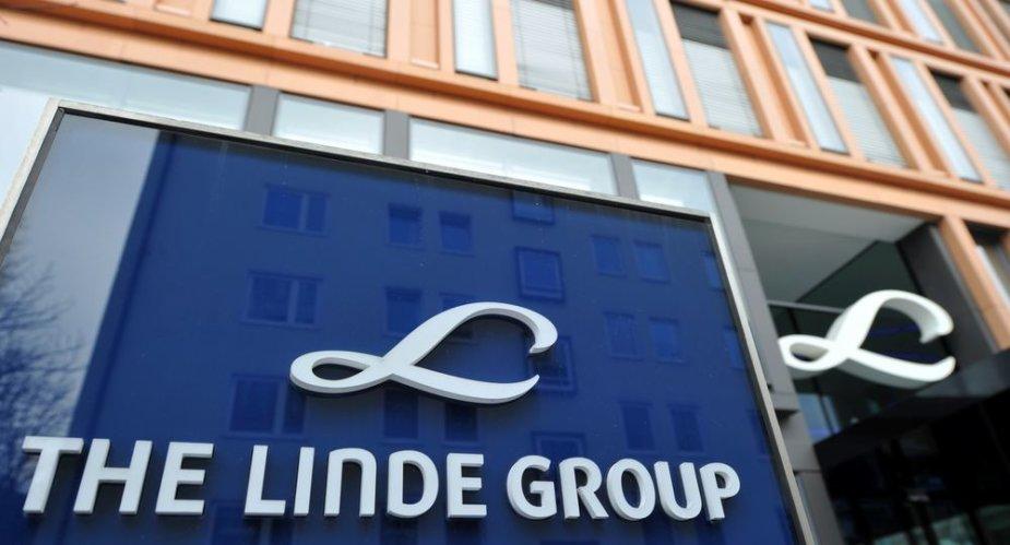 """Vokietijos pramoninių dujų milžinė """"Linde"""""""