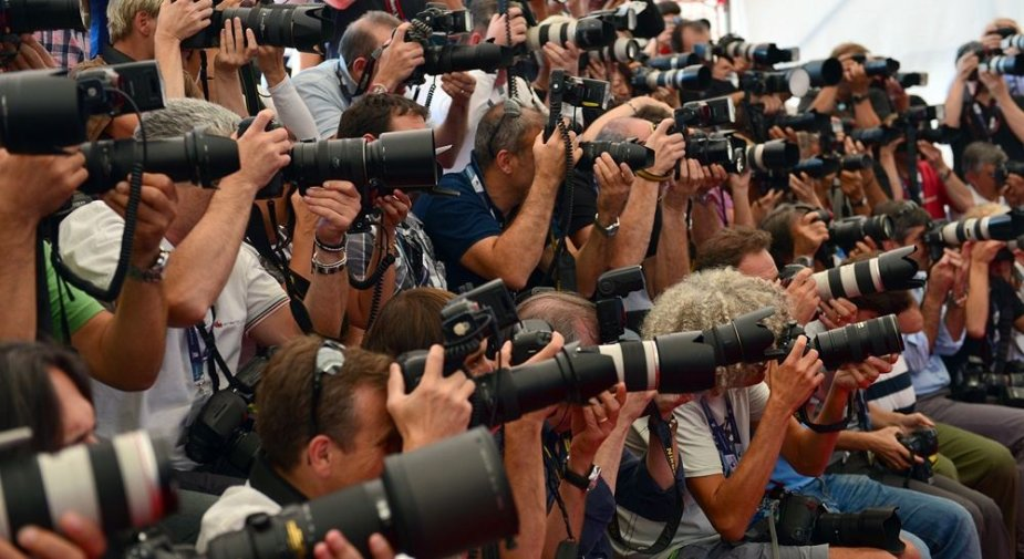 Fotografai Venecijos kino festivalyje