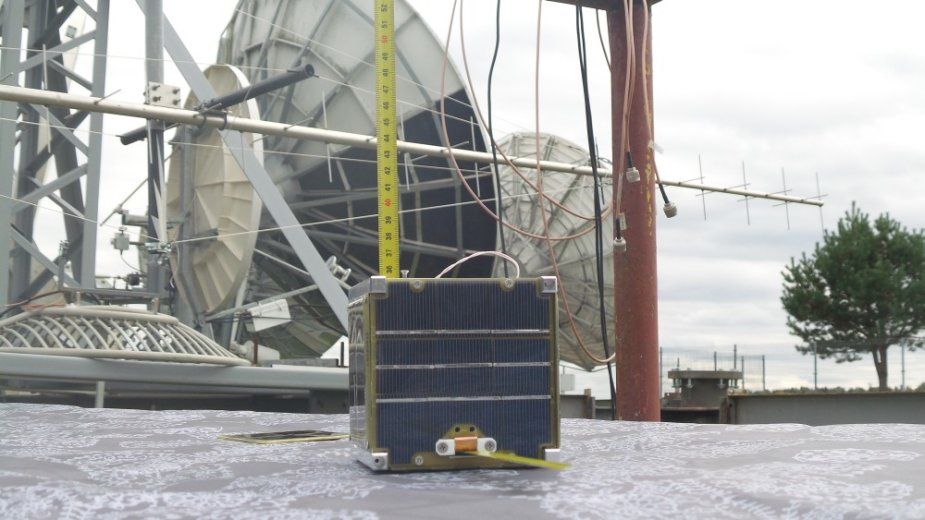 """Palydovo """"LitSat-1"""" dažnių ir ryšio sistemos bandymai"""