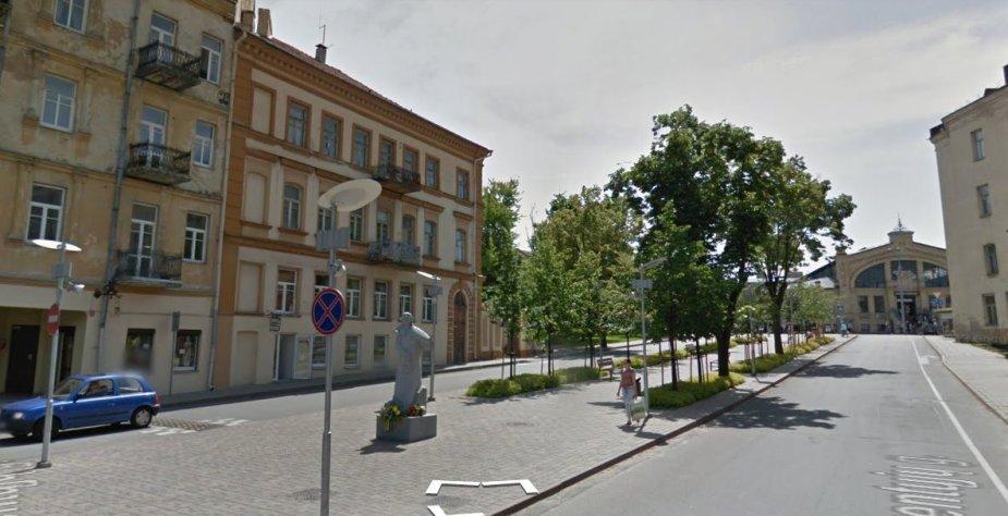 T.Ševčenkos paminklas Vilniuje