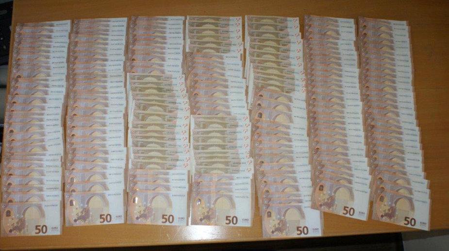 Medininkuose sulaikyta 55 tūkst. eurų grynųjų pinigų kontrabanda