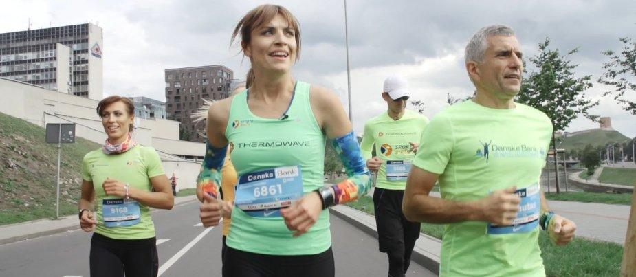 Interaktyvus bėgimas su Vlada Musvydaite