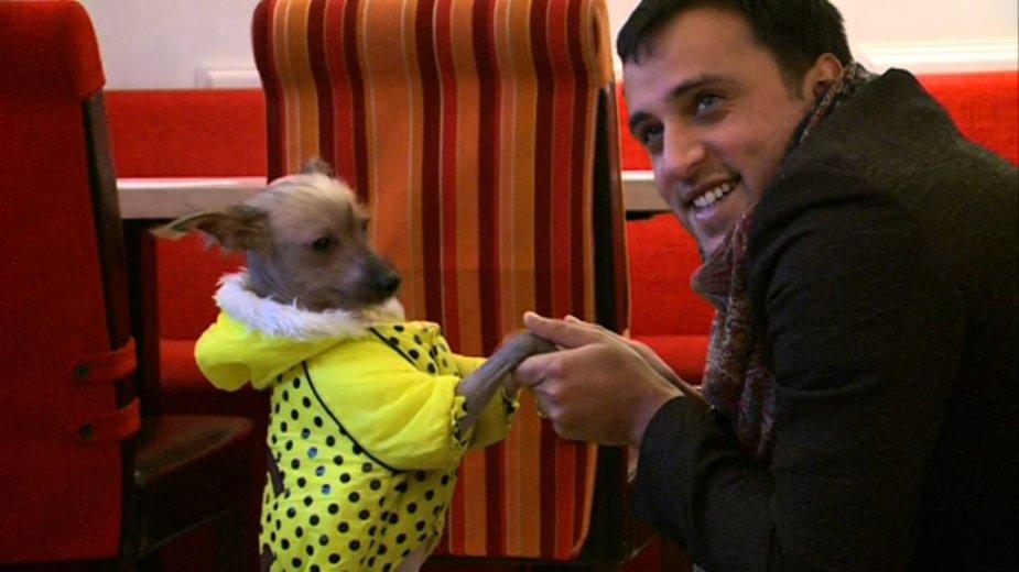 Radžis ir jo šuo Baris