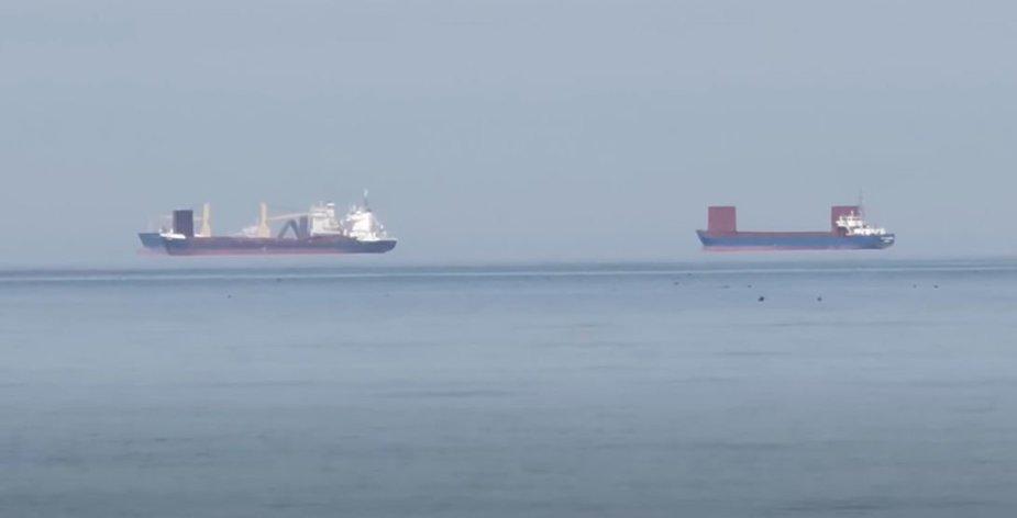 """""""Sklendžiantys"""" laivai Baltijos jūroje"""