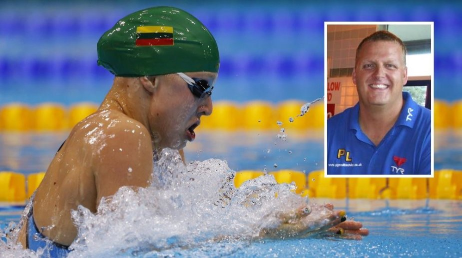 Rūta Meilutytė nustebino ir savo trenerį Joną Ruddą.