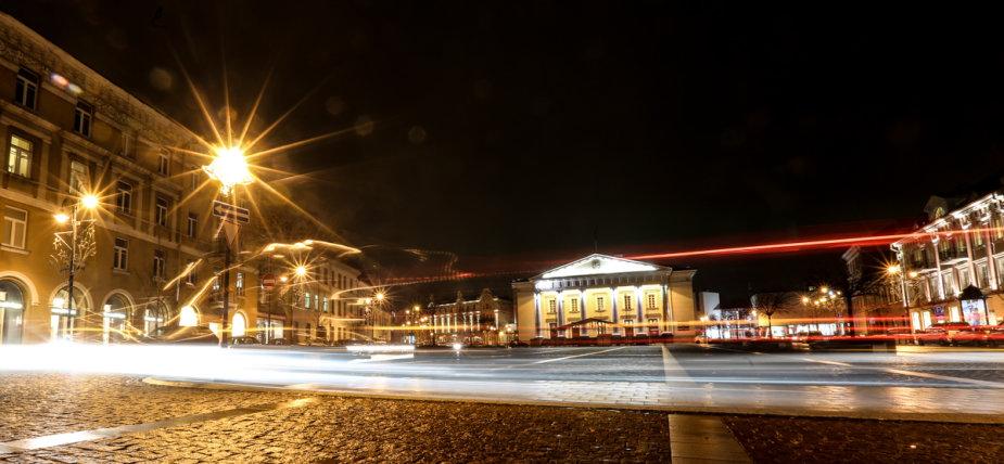 Naktinio Vilniaus šviesos