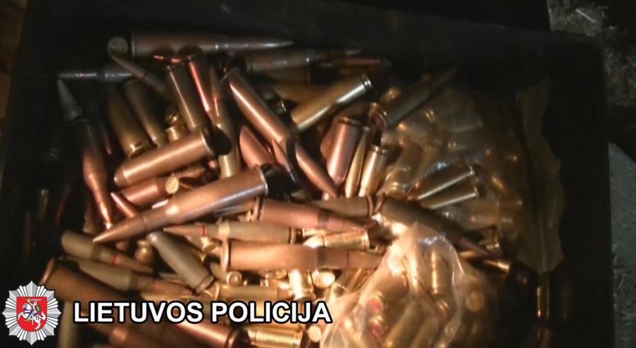 Sulaikyti ginklai ir sprogmenys