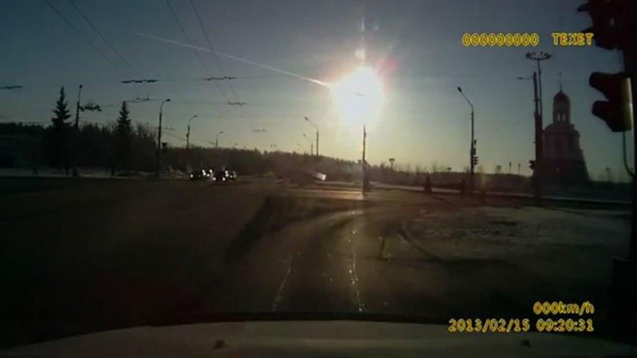 Vasario 15 dieną Čeliabinske nukrito meteoritas
