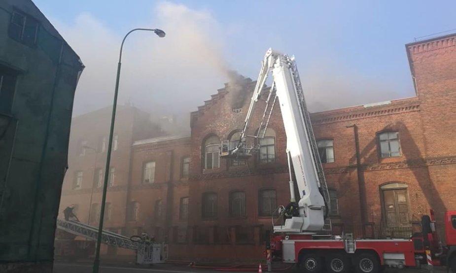 Buvęs Klaipėdos vyriausiojo policijos komisariato pastatas jau ne kartą degė.