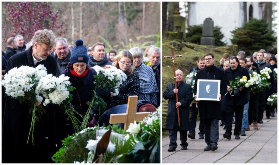 Aktoriaus Arūno Storpirščio laidotuvės