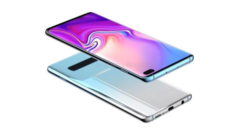 """""""Samsung Galaxy S10"""" numanoma išvaizda"""
