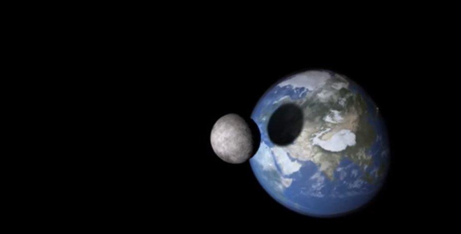 Mėnulis skrieja Žemės link