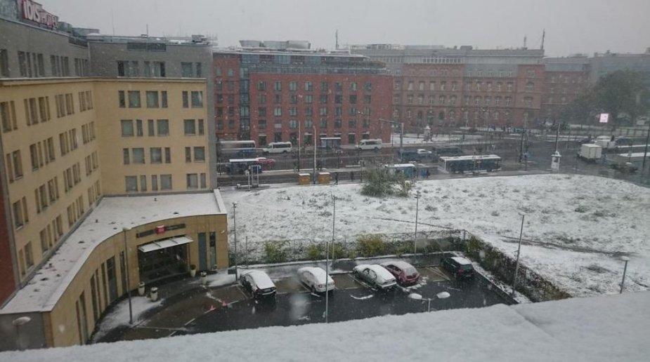 Pirmasis sniegas Lenkijoje