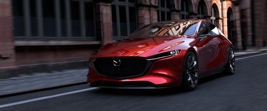 """Tokijo automobilių parodoje """"Mazda"""" demonstruoja du koncepcinius modelius – """"Kai Concept"""" ir """"Vision""""."""