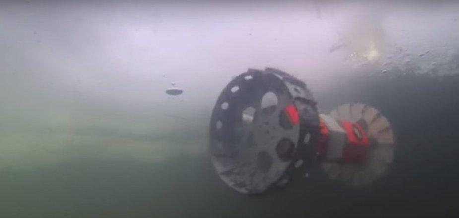 Naujoviškas tyrimų zondas Buoyant Rover for Under Ice Exploration